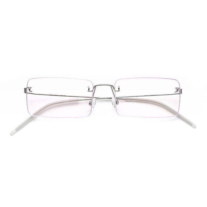 rimless screwless titanium frames