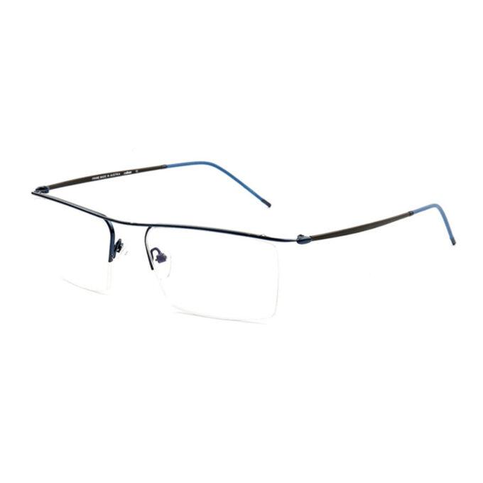 Titanium Semi Rimless Eyeglasses Frame